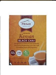 Prime Premium Kenyan Black Chai 240 Tea Bags