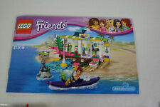 Lego Friends Set 41315 Surfladen komplett mit Bauanleitung Top