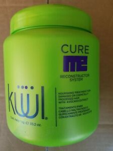 Kuul Cure Me Reconstructor System 35.2 oz Nourishing Treatment for Damaged Hair