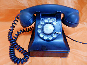 **NICE** VTG BELL SYSTEMS/WESTERN ELECTRIC ROTARY TELEPHONE 302/F1, 1940( ?)