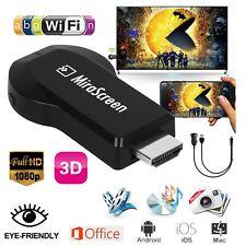 HD 1080P WiFi Wireless Display Dongle Receiver TV HDMI AV DLNA Airplay Miracast