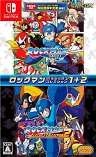 Rockman Classics Collection + Rockman Classics Collection 2 Japan Version NS NEW