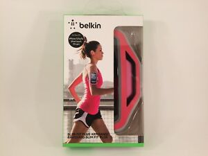 Belkin Slim-Fit Plus Armband for iPhone 5 / 5S / 5c / SE (Sorbet) NEW