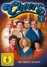 CHEERS SEASON 3 MB  4 DVD NEU TED DANSON/SHELLY LONG/WOODY HARRELSON/+