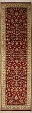 Rugstc 3x10 Senneh Pak Persian Red Runner Rug, Hand-Knotted,Floral with Wool