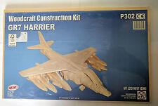 "Woodcraft ""GR7 Harrier"" Kit de Construcción-Muelle P302"