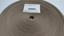 "Khaki Tan 1"" Inch Military Spec Webbing 100 Yard Roll Outdoor Fabric #305"