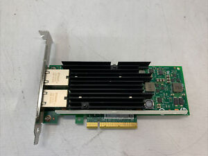 HP 561T Dual Port 10GB RJ-45 PCIe Ethernet Network Adapter 716589-001 717708-001