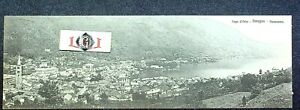 cartolina Lago d'Orta Omegna panorama- non viaggiata f. doppio come da immagini
