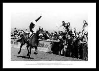 Red Rum's 3rd Grand National Win Horse Racing Photo Memorabilia (186)
