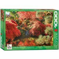 Eurographics 1000 Piece jigsaw Puzzle - Butchart - Japenese Garden EG60000701