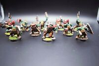 Warhammer 40K Orks Masked Ork Boyz Well-Painted x 10