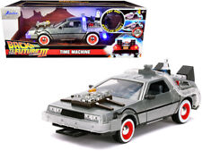 "Jada DeLorean ""Back to the Future Part 3"" 1/24 Brushed Metal 32166"