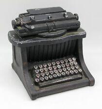 Schreibmaschine Deko Skulptur ca. 17 x 18 x 14 cm
