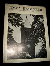 IOWA ENGINEER Magazine March 1974 vol 74, no.4 Nuclear Propulsion in Space SOLAR