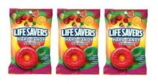 Lifesavers 5 Flavor Hard Candy Individually Wrapped  3 Bag Pack