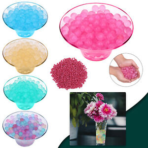 Glitter Water Beads Aqua Soil Crystal Bio Gel Balls Beads Decor Vase Centrepiece