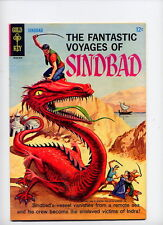 Fantastic Voyages of Sinbad #1, 1965, Gold Key, Painted cover