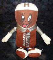 "8"" HERSHEY PLUSH MILK CHOCOLATE Stuffed Doll Figure Candy Park Petting Zoo Toy"