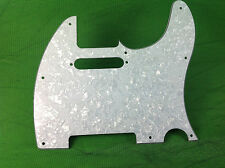 4-PLY TELE TELECASTER PICKGUARD FOR FENDER GUITAR WITH PEARL WHITE