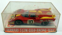 Super Champion 1/43 Scale Vintage Diecast - 63 Ferrari 512 M Celo Racing