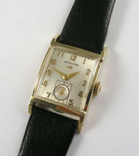 "Hamilton ""Stafford"" Solid 14k Gold Gents Vintage 1950's Wristwatch"
