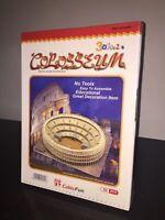 CubicFun Puzzle 3D IL COLOSSEO Colosseum 84 Pezzi Sigillato