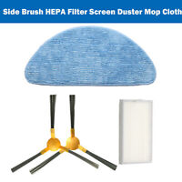Side Brush HEPA Filter Screen Duster Mop Cloth for Proscenic 800T Vacuum Cleaner