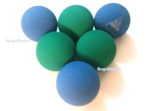 6 Balls ULTRA RACKET BALLS Racquetballs Hi Bounce Blue and Green Hand Ball