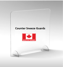 Sneeze Guards clear acrylic easy to clean counter shield 50 x 60 CM