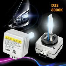 2 x Ampoules XENON D3S 35W 8000K Originale Phare Ballast Feux HID 12V