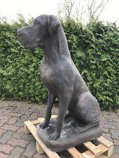 Deutsche Dogge In Rosteffekt aus Steinguss