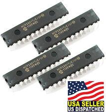 (4PCS) Microchip Corporation MCP23017-E/SP MCP23017 - 16-Bit I/O Expander with S