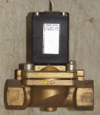 "Burkert 120Vac 1"" Brass Valve 230Psi"