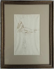Original Drawing George Richmond (British 1809-1896) After Tadeo Zuccaro