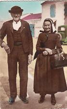SCENES ET TYPES DE VENDEE costumes maraichins couple