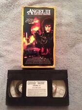 Angel III (3): The Final Chapter (1988)- VHS Tape - Action - Mitzi Kapture