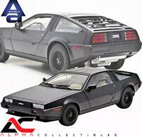 AUTOART 79912 1:18 DELOREAN DMC-12 (MATT BLACK) DIECAST MODEL CAR