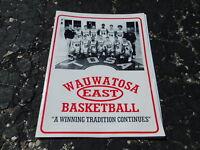 1999-2000 WAUWATOSA EAST Wisconsin high school basketball program - DEVIN HARRIS