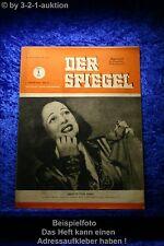Der Spiegel 45/47 6.11.1947 Lucienne Boyer singt der Neuen Welt von Liebe