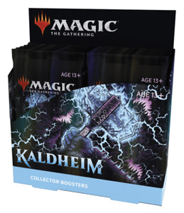 Kaldheim Collector Booster Box - MTG - Brand New, Factory Sealed, English