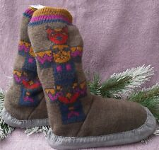 b755c20dd36 NWT EDDIE BAUER Slope side Lounge Cabin Lodge Boot Slippers Sz S M MSRP  60