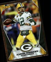 2020 Panini NFL Sticker Card Insert Silver #68 Aaron Rodgers Green Bay Packers