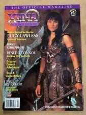 1998 XENA Warrior Princess Official Magazine #1 Giant Xena Pin-Up