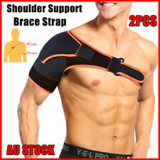 2pcs Shoulder Compression Bandage Sports Support Protector Brace Sporting Strap