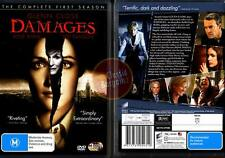 Damages: The Complete Season 1 * NEW DVD * (Region 4 Australia)