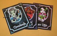 Monster High 3 Story Book Set Threaderella Snow Bite Little Dead Riding Wolf NEW