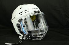 Bauer Reakt 200 Ice Hockey Helmet Combo White Size Large (0310-2288)