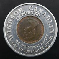 1974 Canada Windsor Whisky 1 Cent VTG Lucky Wheat Penny Encased Good Luck Charm
