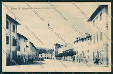 Firenze Borgo San Lorenzo cartolina QQ2259
